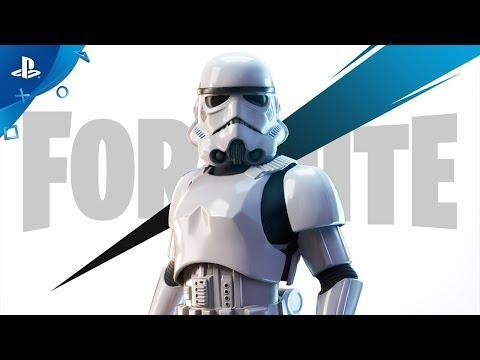 Fortnite ? Trailer de Anúncio do Stormtrooper Imperial | PS4