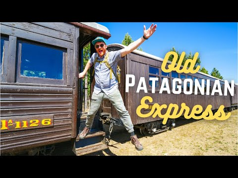 Riding the OLD PATAGONIAN EXPRESS (La Trochita) 🚂   Scenic Train Ride in PATAGONIA, Argentina