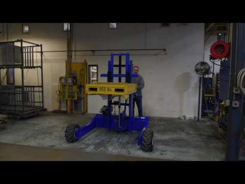 Gas Powered All Terrain Pallet Truck ALL-T-1-GPT-52WD