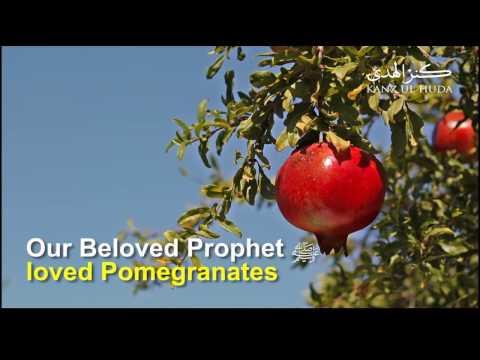 Health Benefits of Fruit of Jannah Pomegranates | Kanzul Huda | Sam Team of TIENS