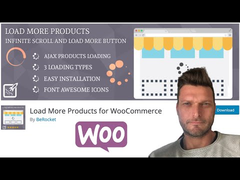 ✅  Load More Products For WOOCOMMERCE | AJAX | SCROLL INFINITO, BOTÓN CARGAR MÁS...