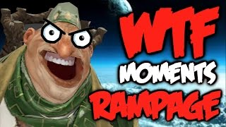 Dota 2 WTF Rampage Compilation