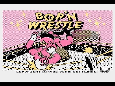 Bop'n Wrestle for Atari 8-bit computers XL/XE
