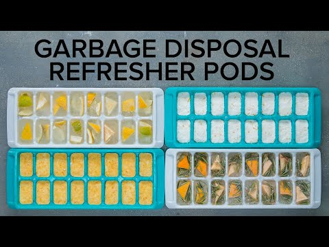 Homemade Garbage Disposal Refresher Pods
