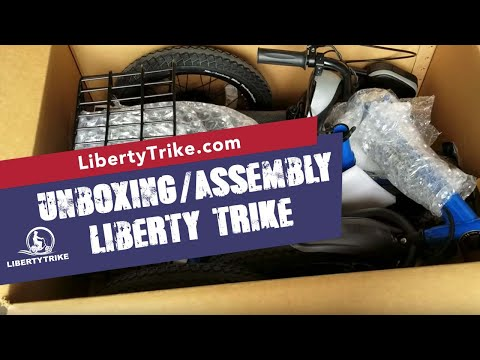Liberty Trike Assembly - Unboxing 2018-2019 (Latest Draft)