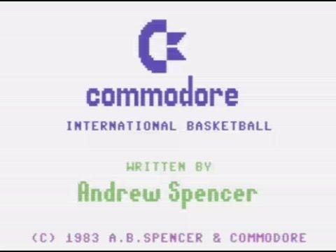 RETROJuegos Clásico - International Basketball © 1984 Andrew Spencer - Commodore 64