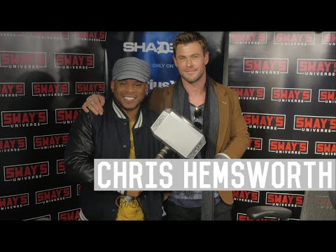 """connectYoutube - Chris Hemsworth Talks About Thor As A Sex Symbol, Miley Cyrus and His New Film """"12 Strong"""""""