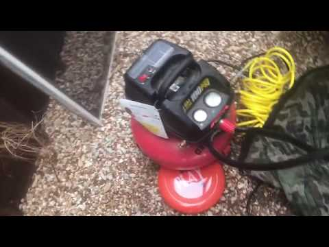 Using an Air Compressor to Prevent Pipes from Bursting in a Freeze