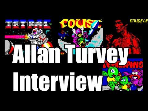 ALLAN TURVEY INTERVIEW  ZX SPECTRUM JETPAC MOD