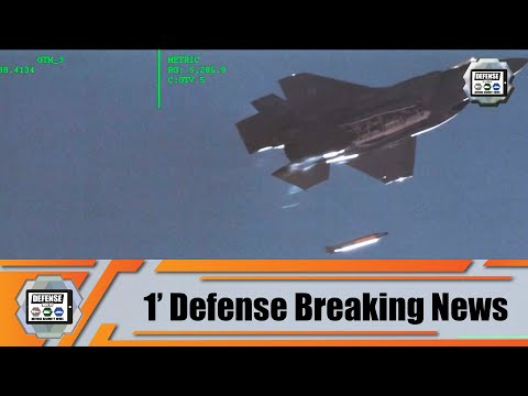 US Air Force completes test drop of B61-12 nuclear bomb mockup from F-35 fighter aircraft 1' news