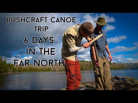 6 DAY FAR NORTH BUSHCRAFT CANOE TRIP! EPIC FISHING, SNOW! BUGS, BUSHCRAFT AND BUDDIES!