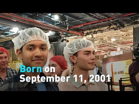 Born on September 11, 2001