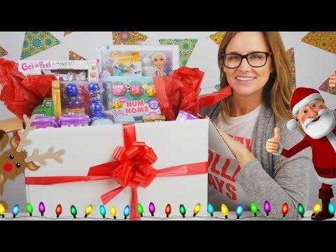 connectYoutube - LOL Surprise! Num Noms and more! Christmas Toys from MGA | Toy videos by DCTC Amy Jo