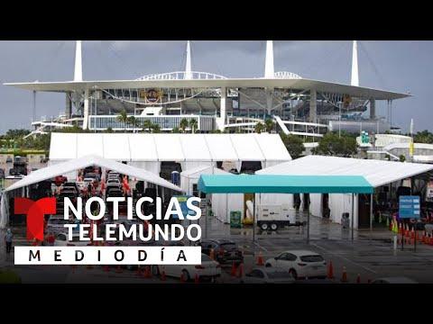 Convierten estadios en centros de vacunación masiva | Noticias Telemundo
