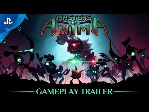 Masters of Anima - Gameplay Trailer | PS4