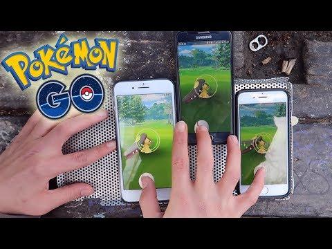 connectYoutube - ¡¡¡CAPTURA POKÉMON de 3 en 3 con 1 SOLA MANO!!! ¡EL MEJOR CAZADOR de Pokémon GO! [Keibron]