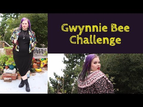 Gwynnie Bee Challenge! Plus Size Clothing Try On Haul | VIntageortacky