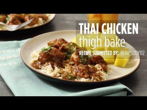 How to Make Thai Chicken Thigh Bake | Chicken Recipes | Allrecipes.com