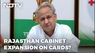 Punjab Tussle Resolved, Rajasthan Cabinet Expansion On Congress Agenda - NDTV