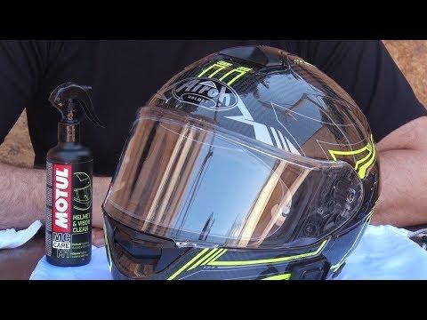 Motosx1000: Shopping // Motul Helmet & Visor Clean