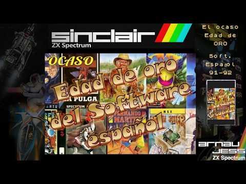 El OCASO en la Edad de Oro del Soft. Español (Zx Spectrum)