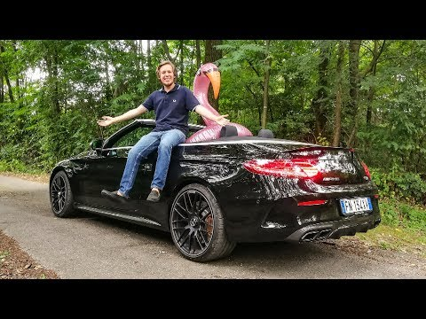 Mercedes gave me a C63S AMG Convertible! ? [Sub ENG]