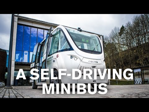 Self-driving bus at Chalmers