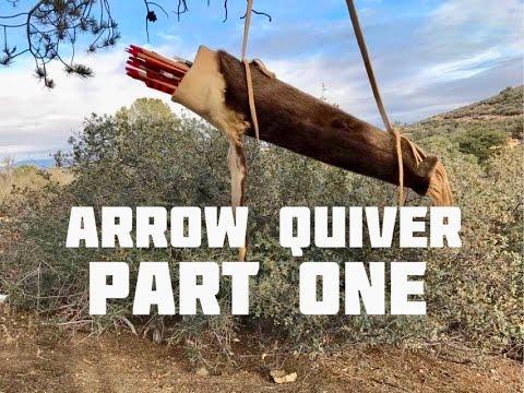 Otter Pelt Arrow Quiver (Part 1 of 4)