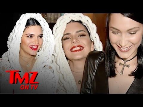 Kendall Jenner's Got Gold Teeth! | TMZ TV