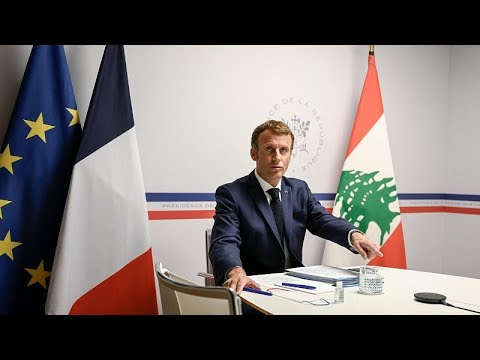 """Macron feltételekhez kötné az újabb <span class=""""search-everything-highlight-color"""" style=""""background-color:orange"""">libanoni</span> segélycsomagot"""