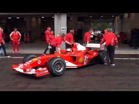 Ferrari Formula 1 F2001 – EPIC V10 SOUNDS!!