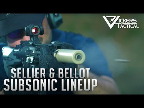 Sellier & Bellot Subsonic Lineup