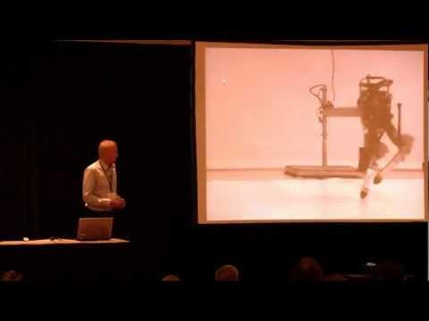 Parallel Stiffness in Running Robots