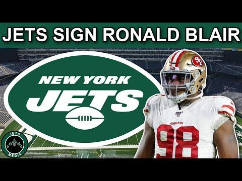 New York Jets Sign DE Ronald Blair