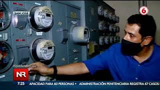 Comerciantes de San José denuncian que la CNFL les cortó el servicio