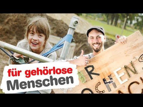 Wir machen's einfach: Die Mini-Spezial-Golfanlage (Folge 5), Deutsche Gebärdensprache