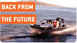 DeLorean Hovercraft Cruises Around San Francisco | Car of the Future