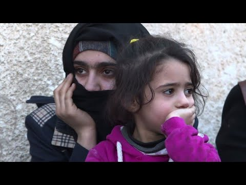 مرضى يأملون في تلقي العلاج المناسب اثر اجلائهم من الغوطة الشرقية بعد انتظار طويل