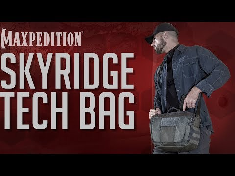 MAXPEDITION Advanced Gear Research SKYRIDGE Tech Messenger Bag