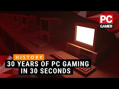 30 years of PC gaming in 30 seconds