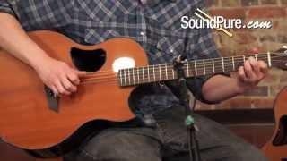 McPherson 4.5 Camrielle Zircote / Redwood Acoustic Guitar Demo