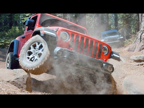 JEEP WRANGLER RUBICON (2019) Off-Road Demonstration