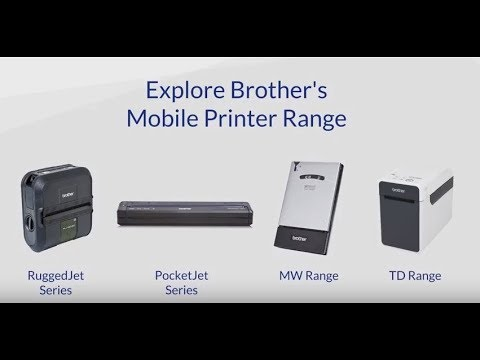 Brother UK - the key uses of mobility products to improve efficiency