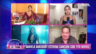 Tito Nieves halaga a Daniela Darcourt: ''Fue un sueño trabajar con esta joven talentosa''