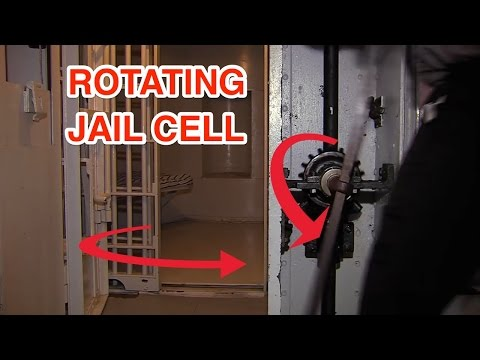 Experimental jails have rotating cells