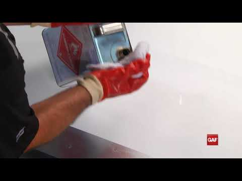 Installing EverGuard® Heat Weld Cover Tape HD
