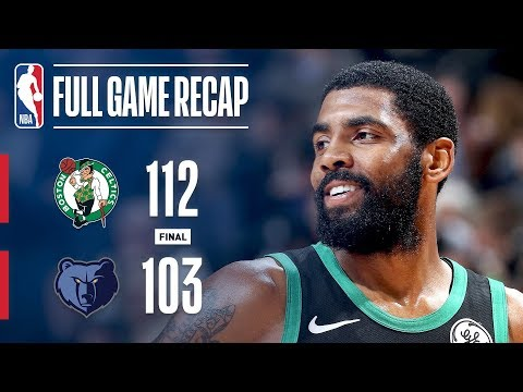 Full Game Recap: Celtics vs Grizzlies | Conley and Kyrie Duel