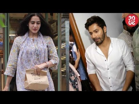 Sara Steps Out In Indian To Promote He Look In 'Kedarnath' | Varun Refuses To Talk About Alia