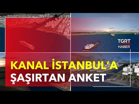 Kanal İstanbul Anketi: Bu Kadarına Da Pes! – Ekrem Açıkel ile TGRT Ana Haber