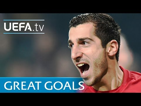 Watch five great Henrikh Mkhitaryan goals
